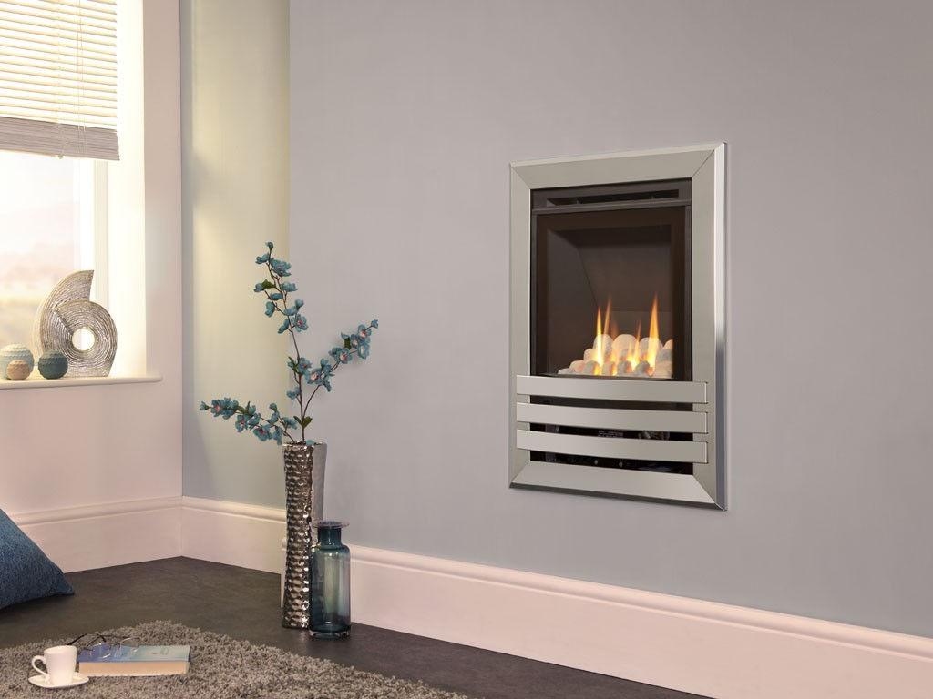 Flavel windsor contemporary he wall mounted gas fire derby gastech - Contemporary fireplaces wall mounted ...